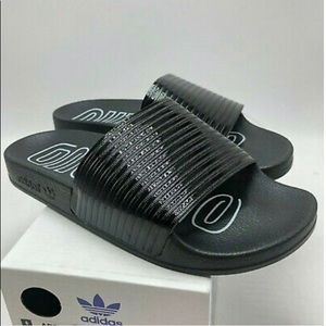 Adidas Adilette Womens Slides CoreBlackCloud White